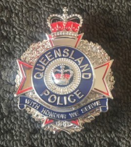 QldPol Plaque Badge