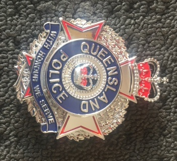 Replica Queensland Police Badge