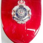 Queensland Police Badge Plaque